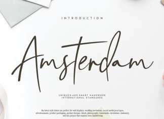 Amsterdam Script Font