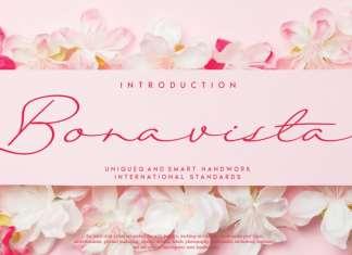 Bonavista Handwritten Font