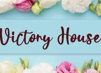 Victory House Script Font