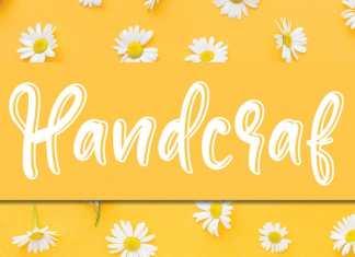 Handcraf Display Font