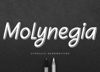 Molynegia Handwritten Font