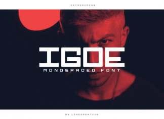Igoe Display Font