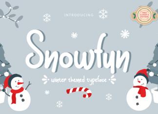 Snowfun Handwritten Font