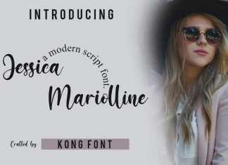 Jessicca Mariolline Script Font