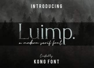 Luimp Serif Font
