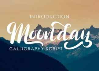 Monday Script Font