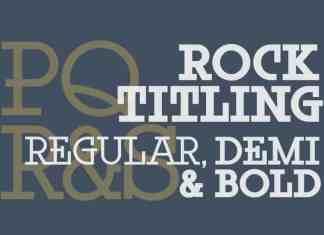 Rock Titling Slab Serif Font