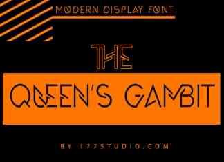 The Queen's Gambit Font