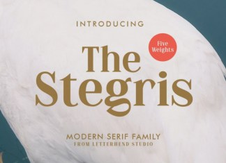 The Stegris Font Family