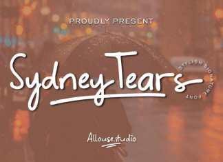 Sydney Tears Script Font