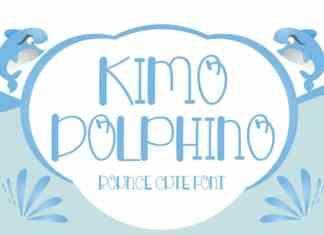 Kimo Dolphino Display Font