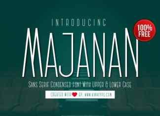 Majanan Sans Serif Font