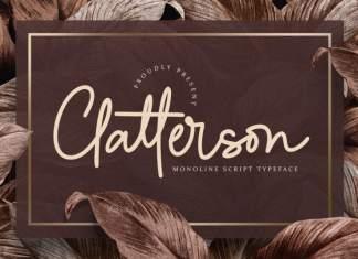 Clatterson Script Font