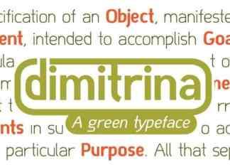 Dimitrina Sans Serif Font