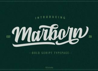 Marbrorn Script Font