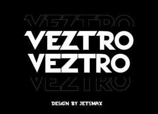 Veztro Display Font