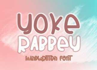 YOKE RABBEY Script Font