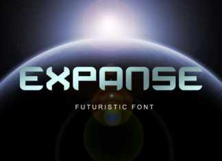 Expanse Display Font