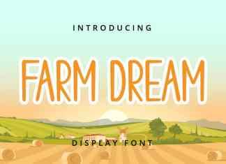 Farm Dream Display Font