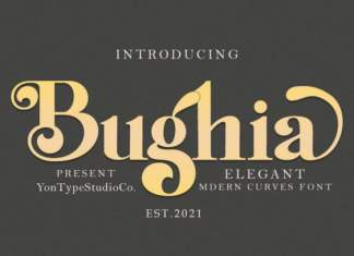 Bughia Serif Font