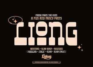 Liong Display Font