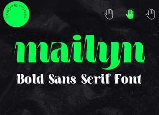 Mailyn Display Font