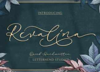 Revalina Handwritten Font