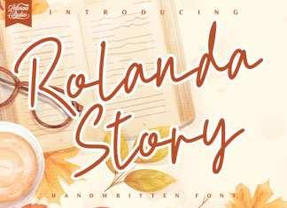 Rolanda Story Handwritten Font