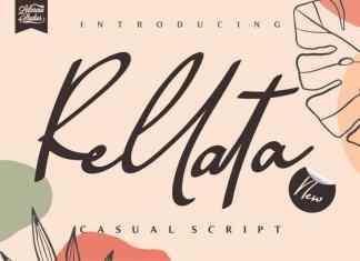 Rellata Script Font
