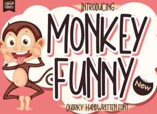 Monkey Funny Display Font