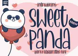 Sweet Panda Display Font
