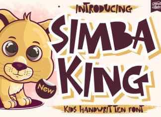 Simba King Display Font