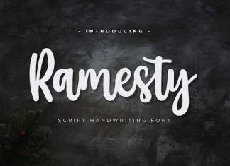 Ramesty Script Font