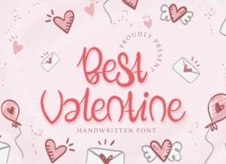 Best Valentine - Handwritten Font