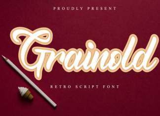 Grainold Calligraphy Font