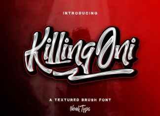 KillingOni Brush Font
