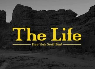 The Life Serif Font