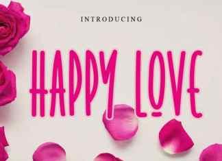 Happy Love Display Font