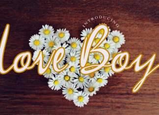 Love Boy Script Font