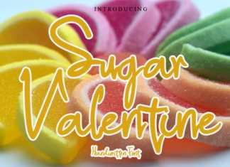 Sugar Valentine Handwritten Font