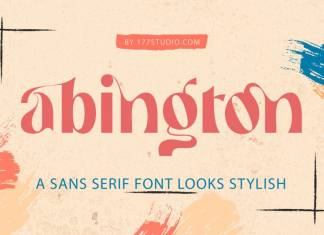 Abington - Stylish Sans Serif Font