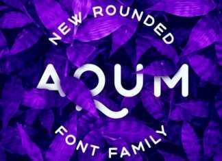 Aqum 2 Sans Serif Font