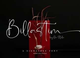 Billastim Script Font