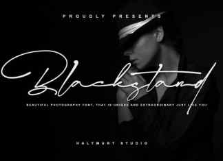 Blackstand Script Font