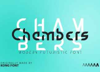 Chambers Display Font