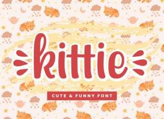 kittie Display Font