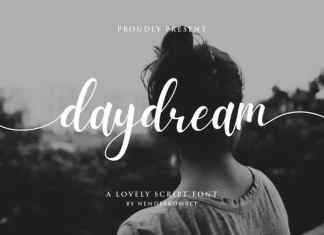 Daydream Calligraphy Font