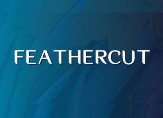 Feathercut Sans Serif Font
