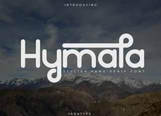 Hymala Sans Serif Font