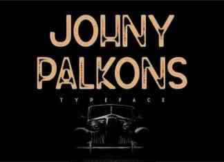 Johny Palkons Display Font